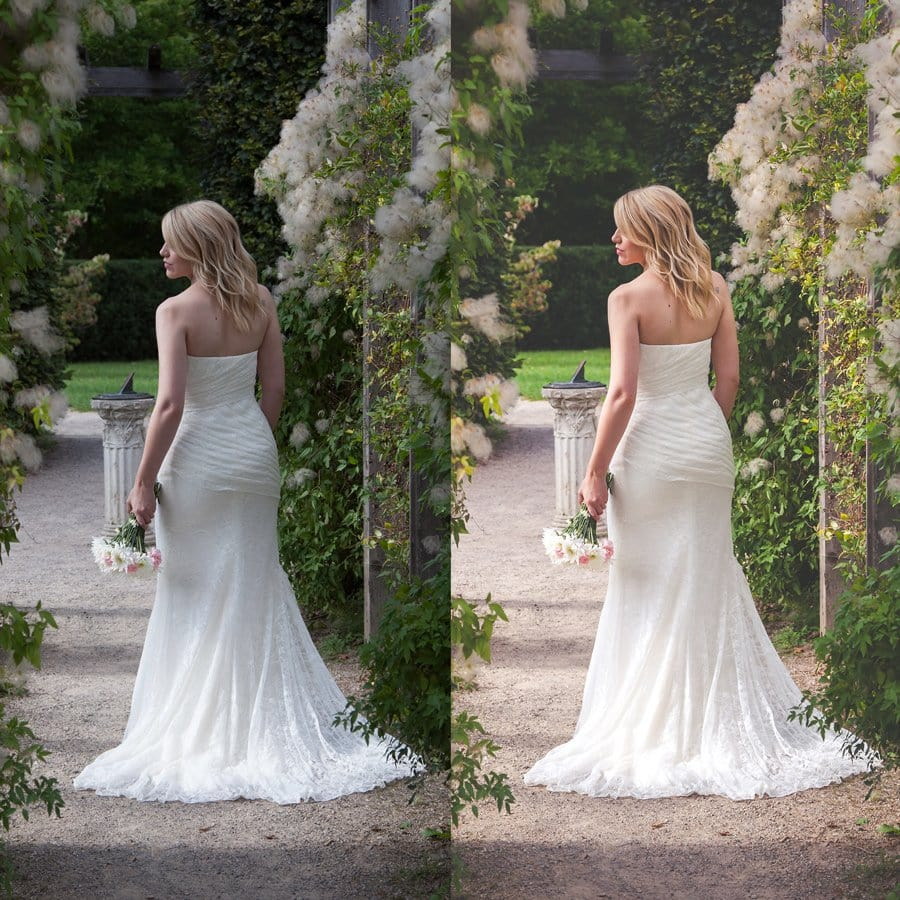 Beautiful Lightroom Presets Wedding Collection Before And After