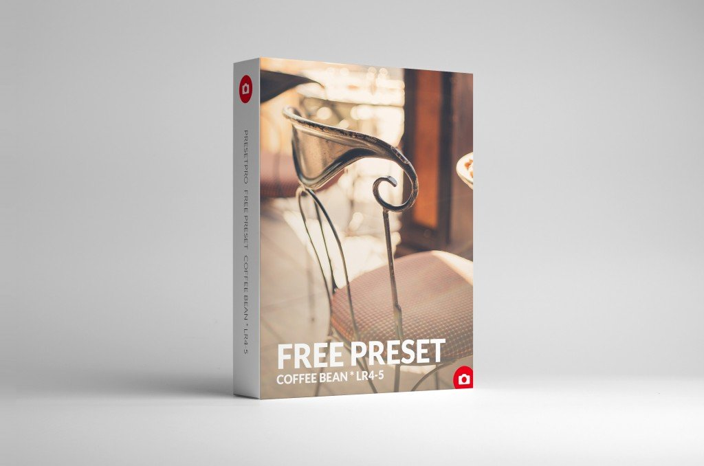 Free Lightroom Presets Coffee-Bean-Box