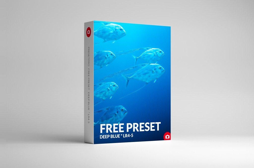 Free Lightroom Presets DEEP-BLUE-BOX