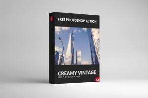 Cream Vintage Box