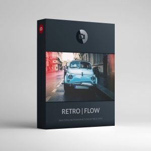 RETRO FLOW Photoshop Actions