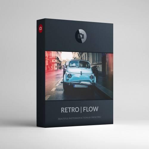 RETRO FLOW Photoshop Actions