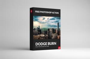 Free Photoshop Action Dodge Burn