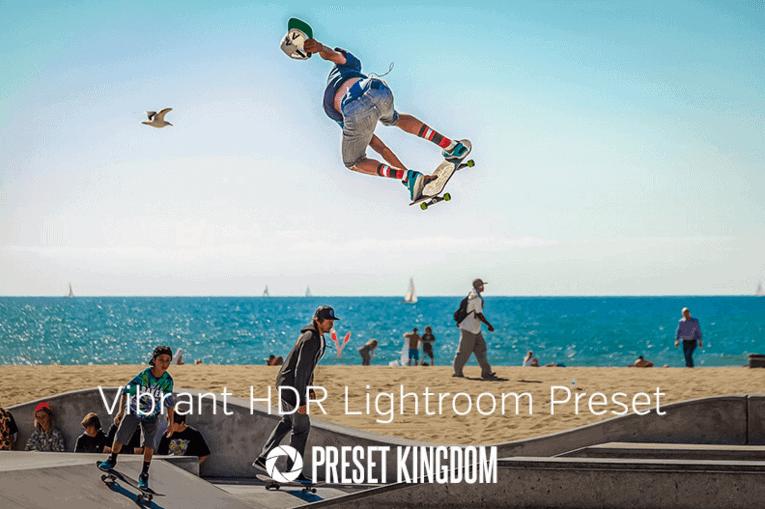 Free Vibrant Colors HDR Lightroom Preset