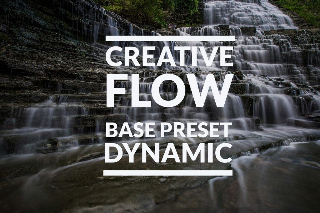 Creative Flow Base Preset: Dynamic iii
