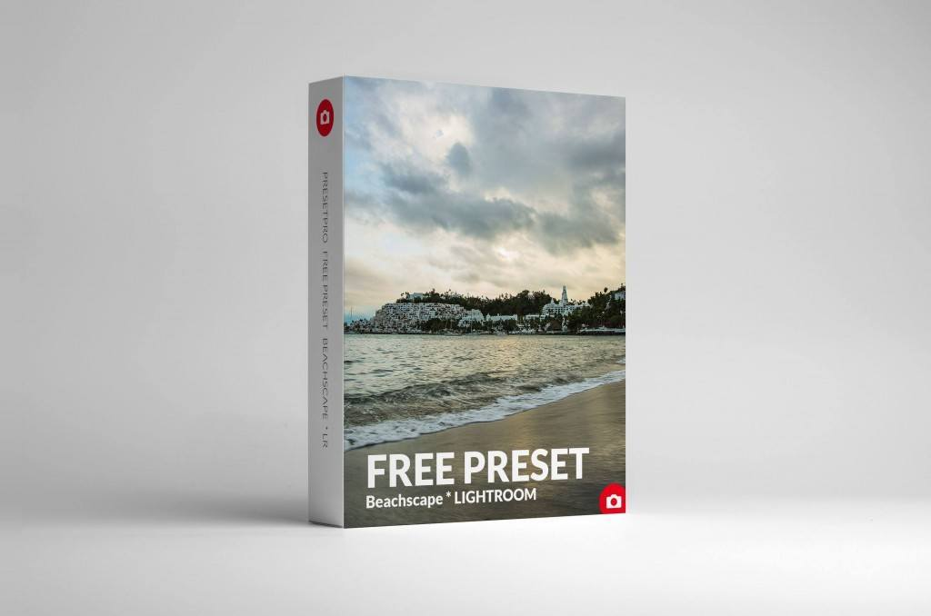 Free Lightroom Preset Beachscape