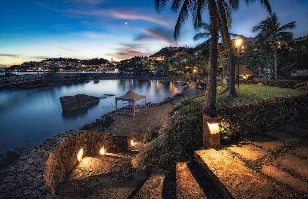 Creative Edit: Glowing Path to the Beach - Tim Martin