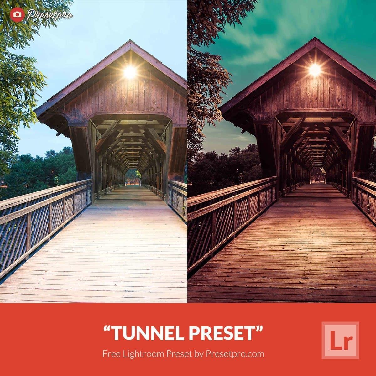 Presetpro Free Lightroom Preset Tunnel
