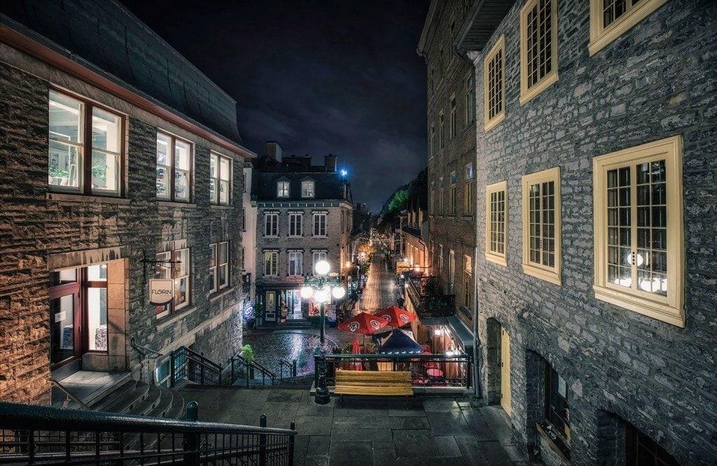 Creative Edit: Old Quebec - Tim Martin