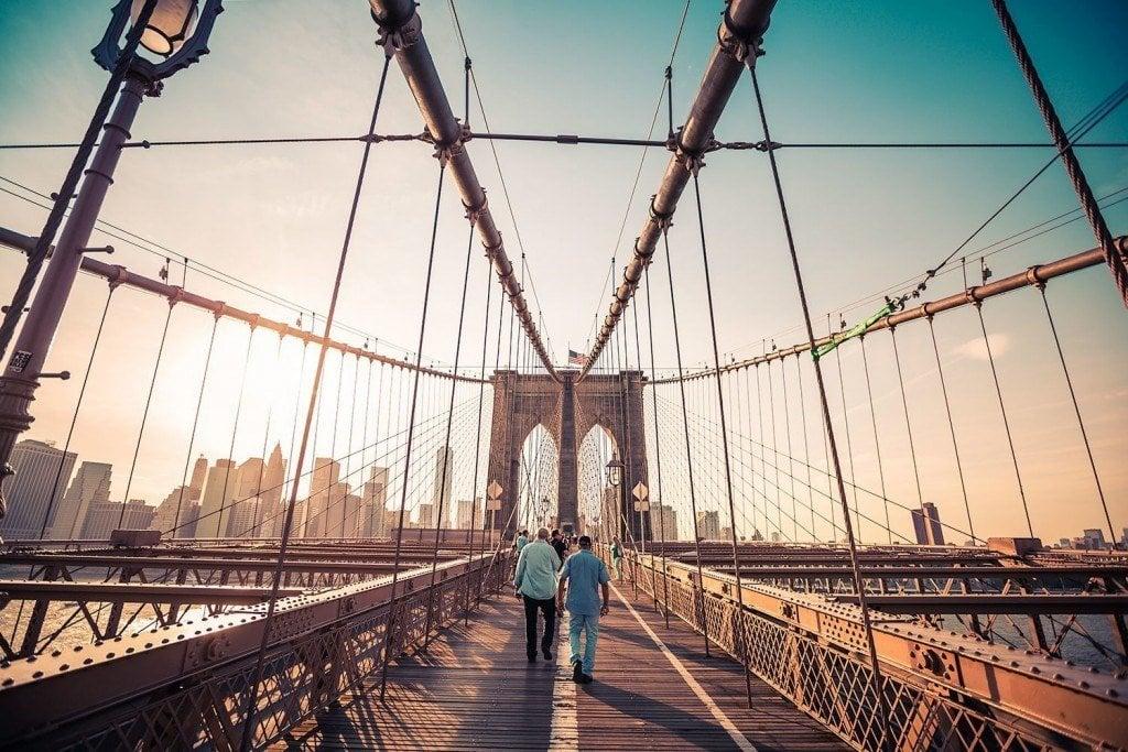 Sundown-on-the-Brooklyn-Bridge-Tim Martin