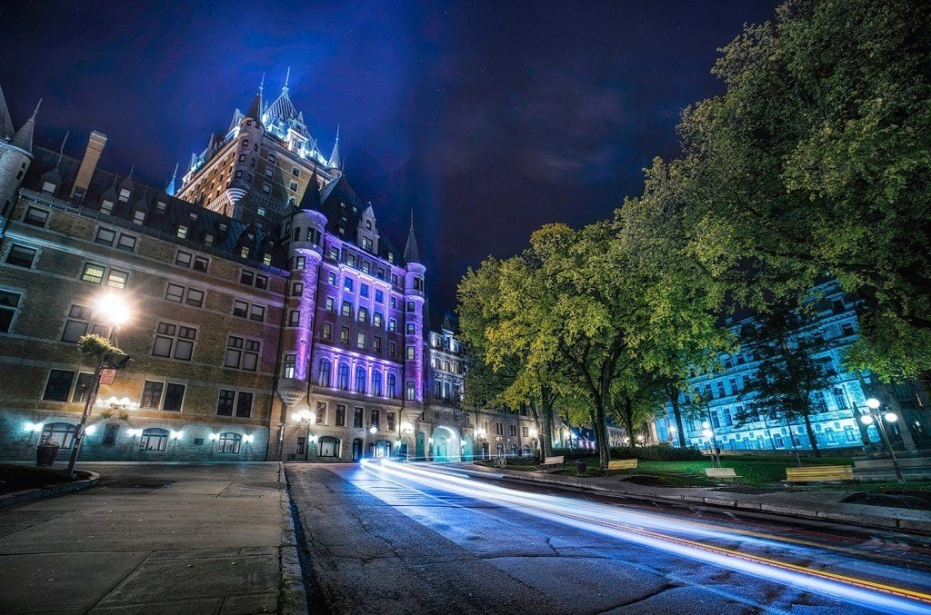 Creative-Edit-Quebec-Light-Trails