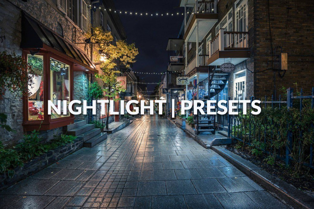 Nightlight Lightroom Presets by Presetspro