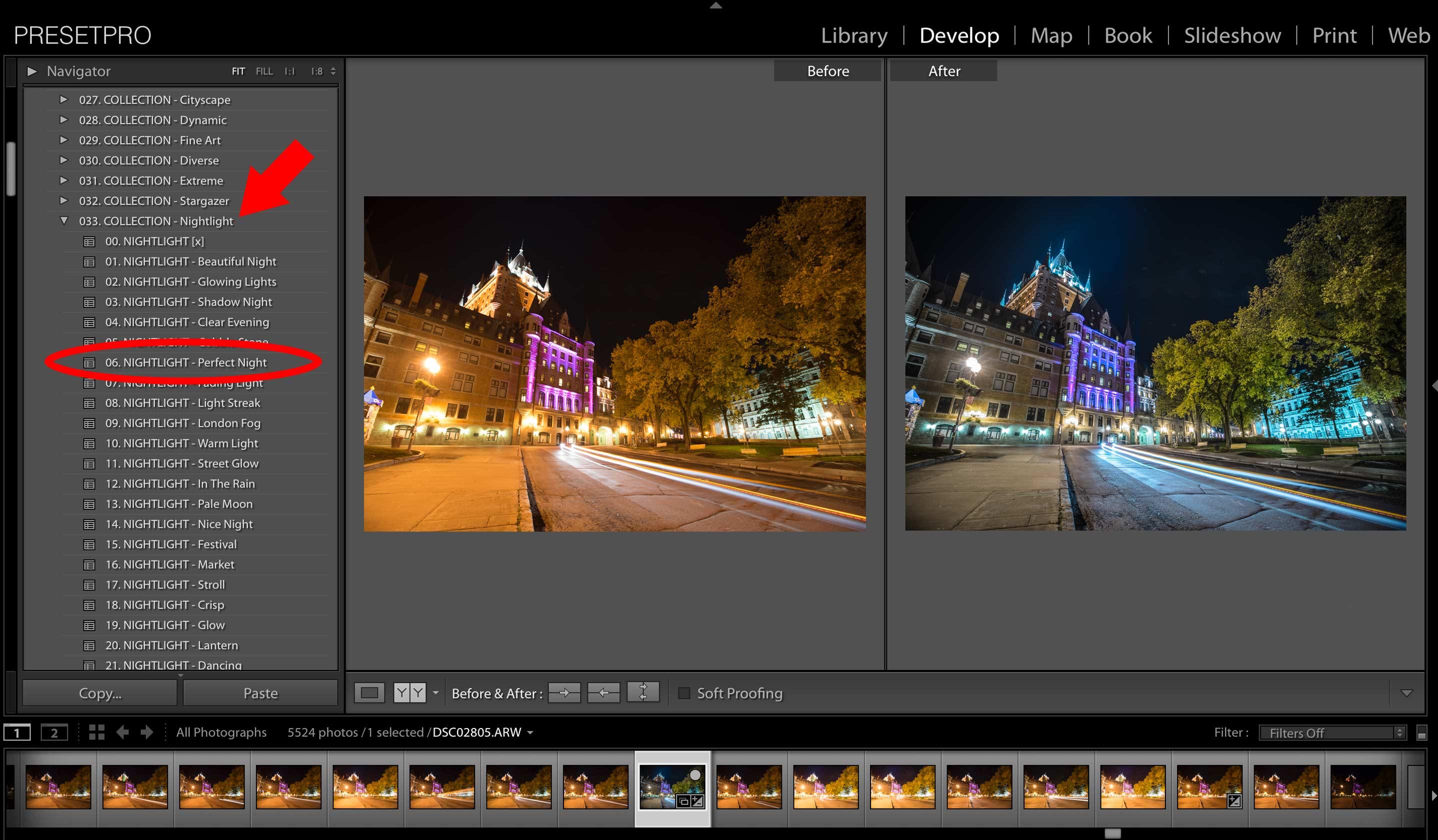 Creative Edit: Quebec Light Trails – Tim Martin