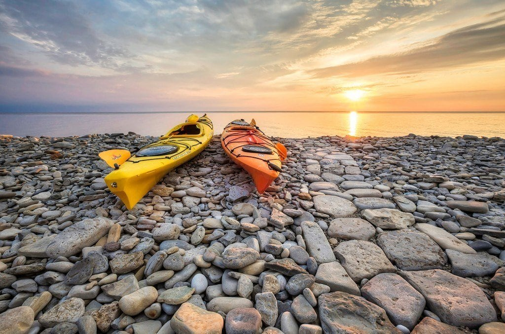 Creative Edit: Rocky Shore Sunrise - Tim Martin
