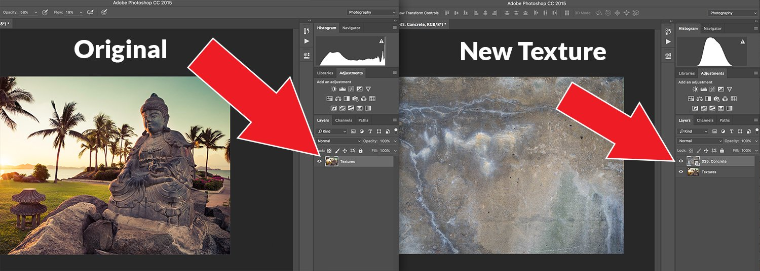 How To Blend Textures in Photoshop Step 1