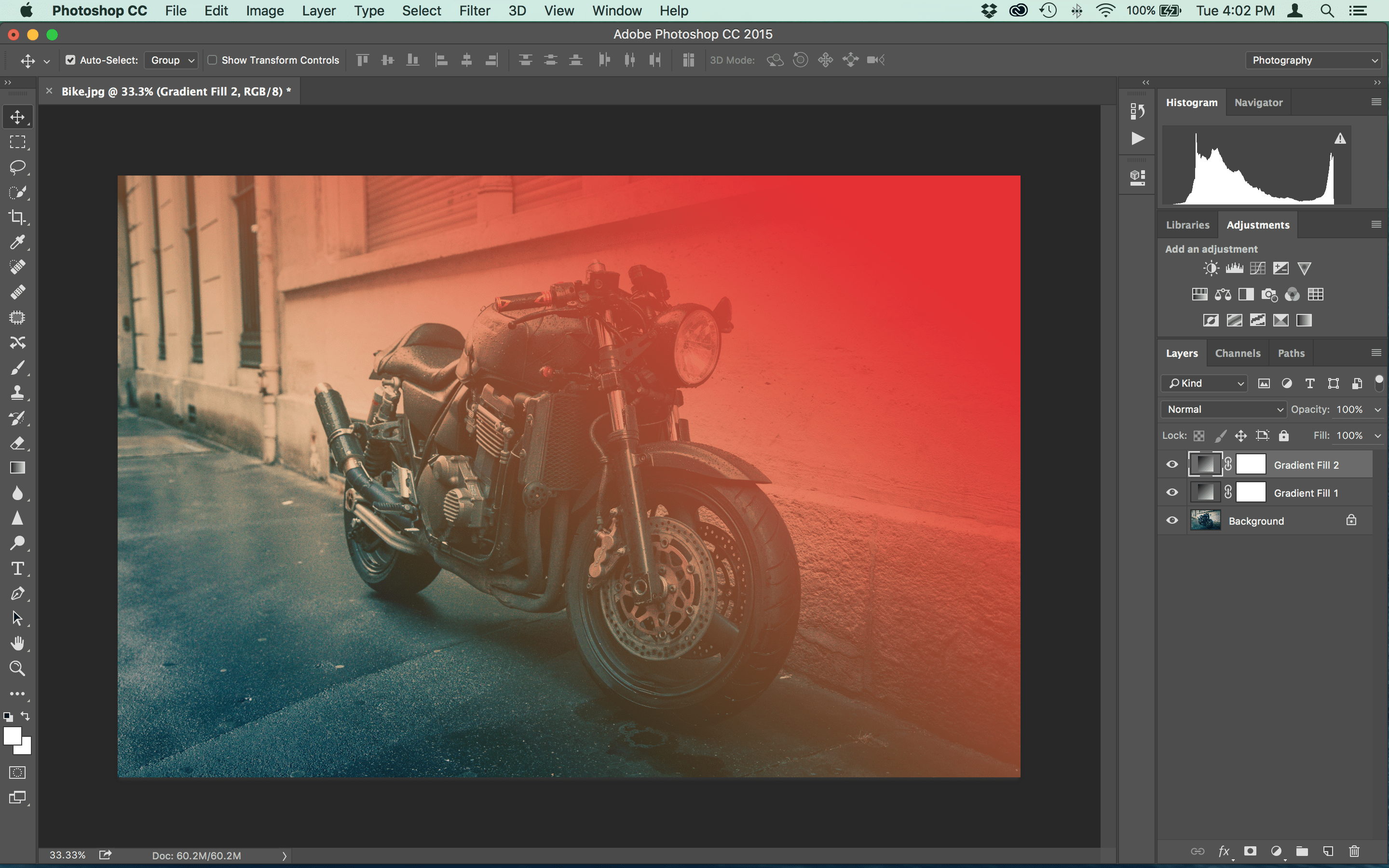 How to Make Vintage Light Leaks in Photoshop Step Eight