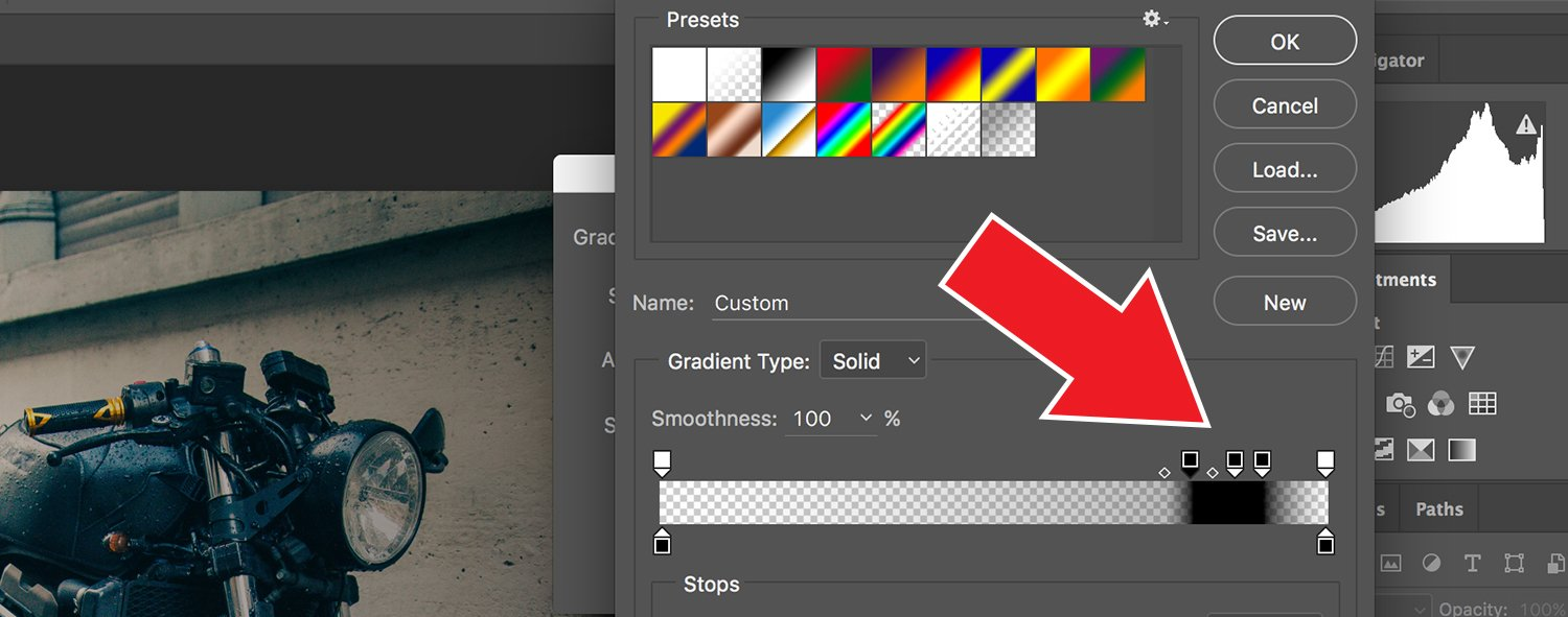 How to Make Vintage Light Leaks in Photoshop Step Three