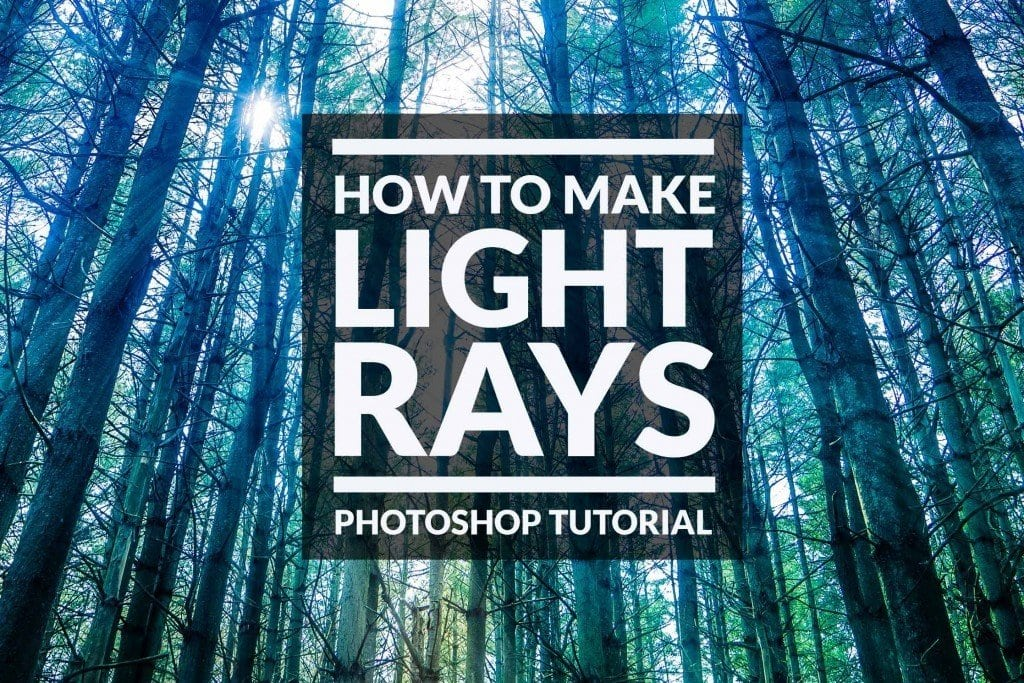 How to Make Light Rays in Photoshop