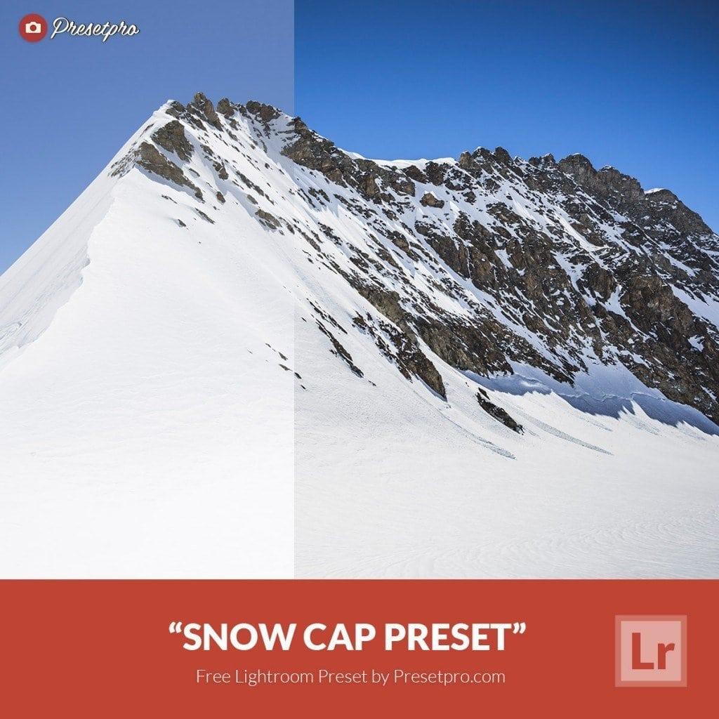 Free Lightroom Preset Snow Cap
