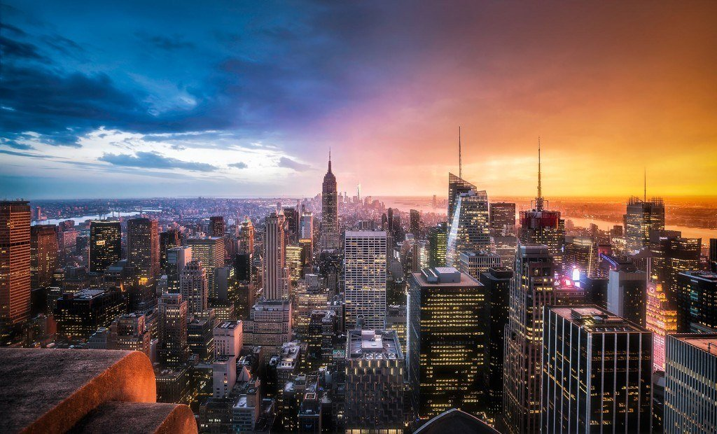 HDR-Photography-Day-vs-Night-in-New-York-City