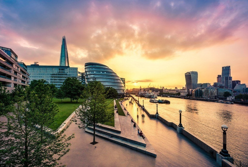 Travel Photography - London Sunset