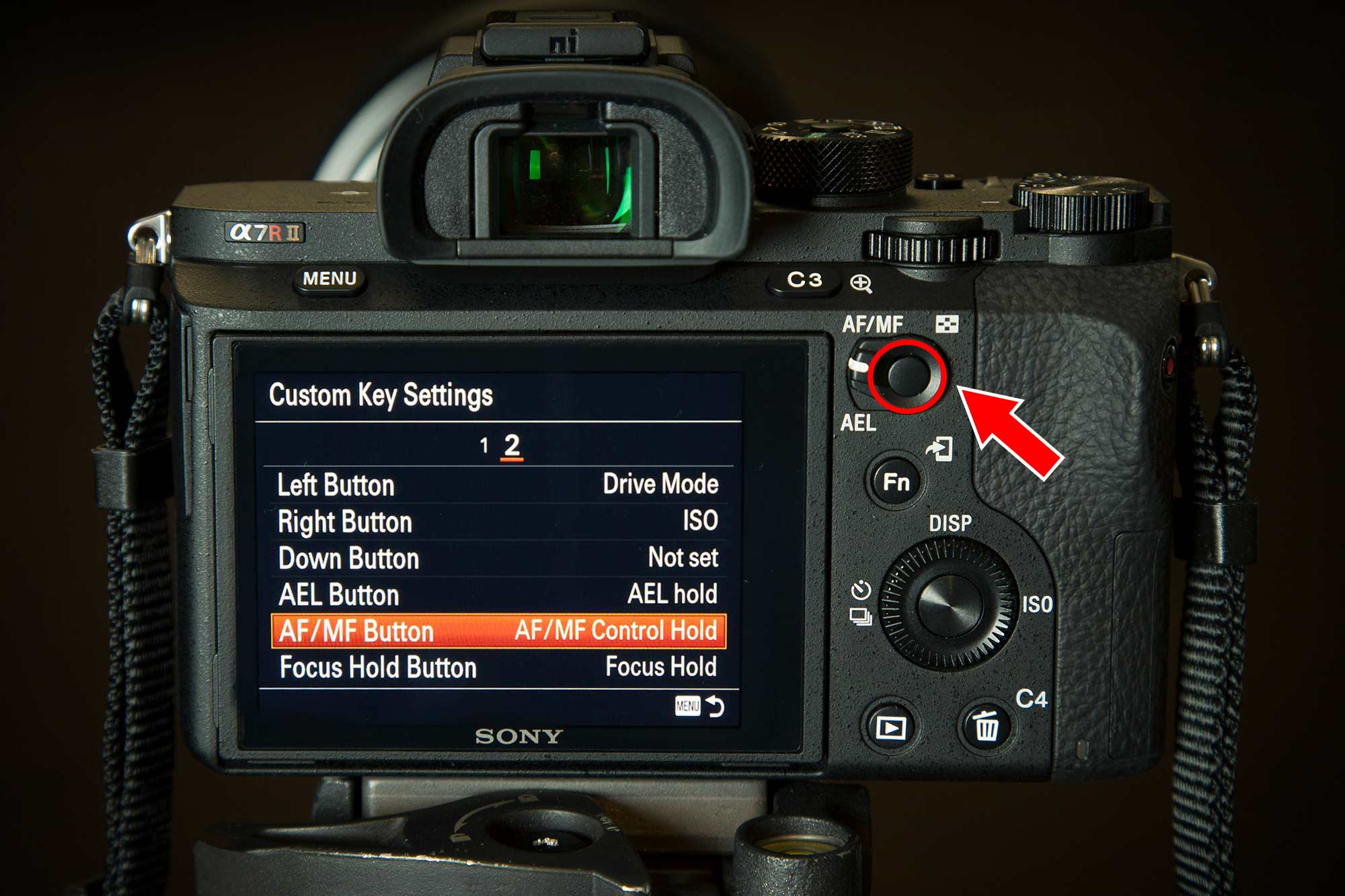 AF.MF AEL Button to Quickly Auto Focus While in Manual Focus