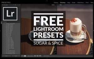 Free-Lightroom-Preset-Sugar-&-Spice-Cover