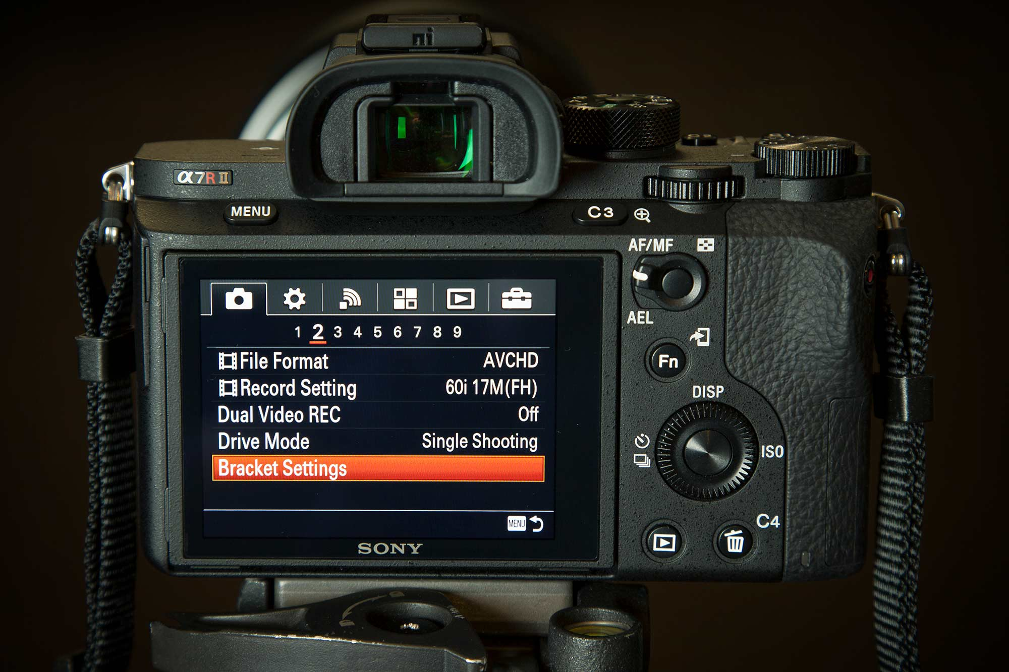 No Wireless Remote Set Timer for Image Bracketing