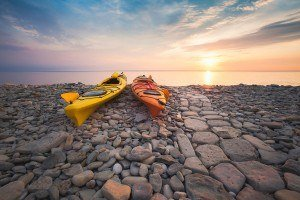 HDR-Photography-Rocky-Shore-Sunrise