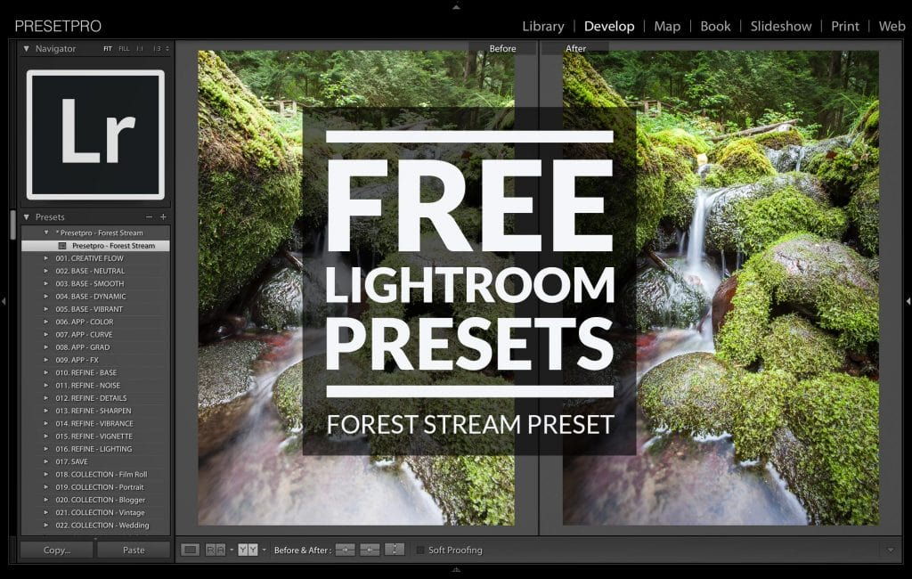 Free-Lightroom-Preset-Forest-Stream-Cover