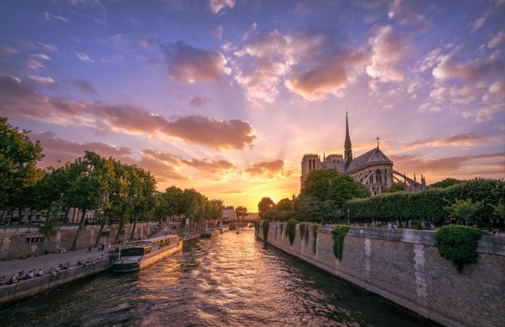 HDR-Photography-Notre-Dame-Sunset