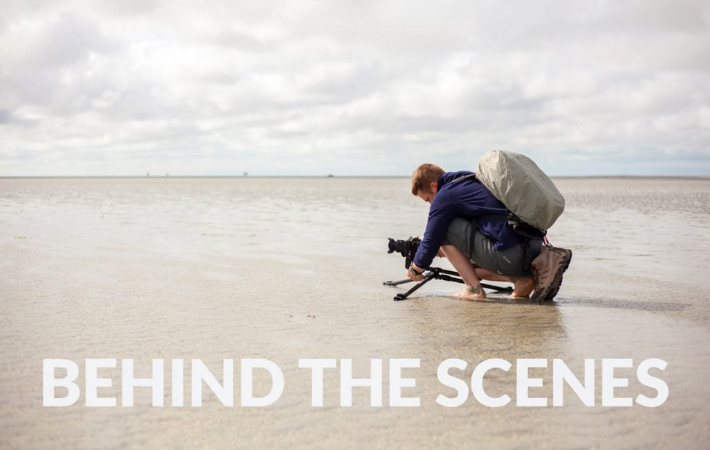 Behind the scenes - Mont Saint Michel