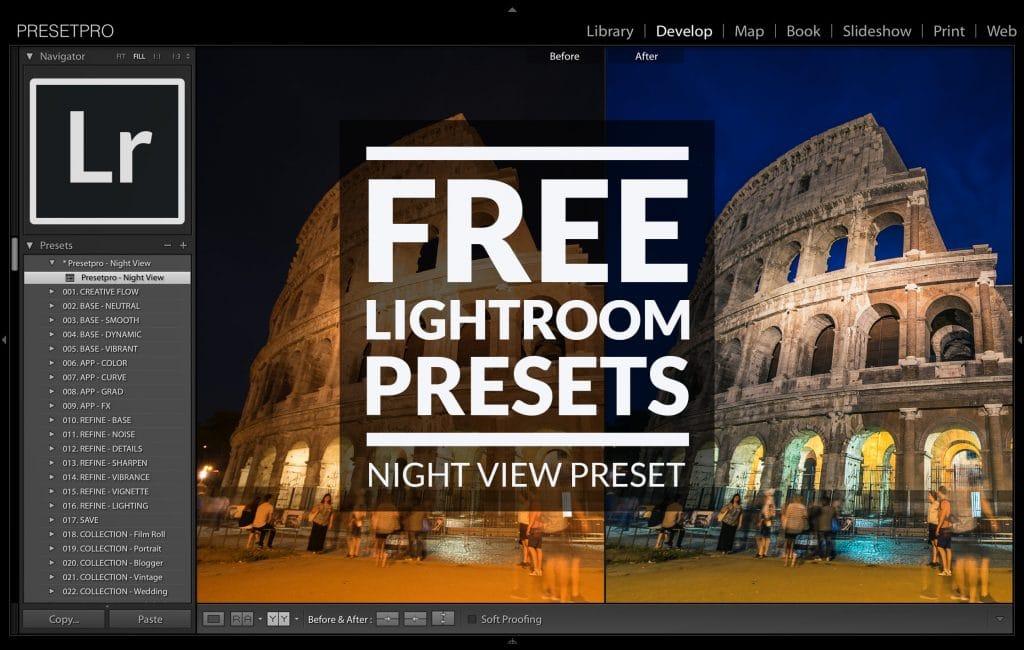 Free-Lightroom-Preset-Night-View-Cover