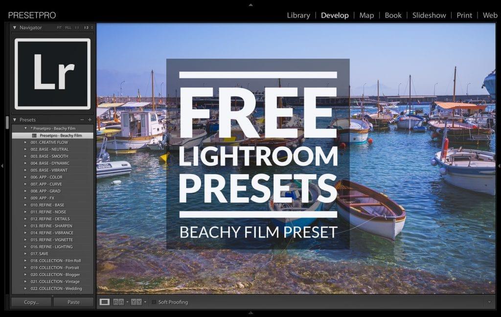Free Lightroom Preset Beach Film by Presetpro.com
