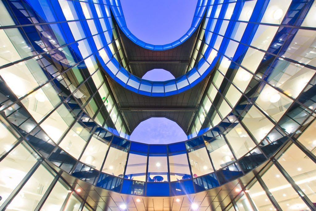 HDR-Photography-Modern-Architecture-in-London