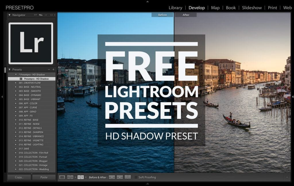 Free Lightroom Preset HD Shadows Presetpro