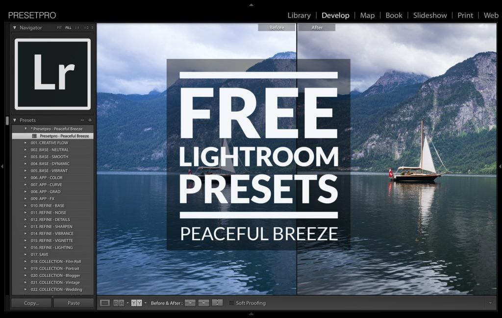 Free Lightroom Preset Peaceful Breeze Presetpro.com