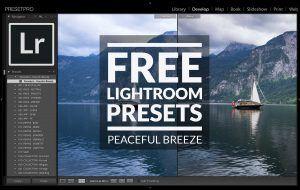 Free Lightroom Preset Peaceful Breeze Presetpro.com