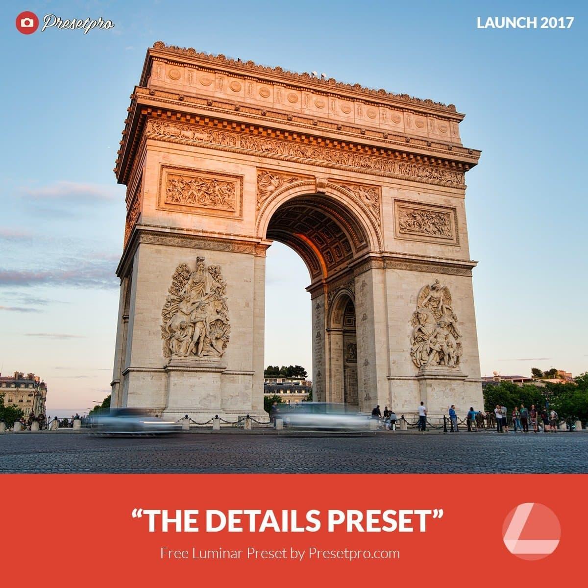 Free-Luminar-Preset-Details