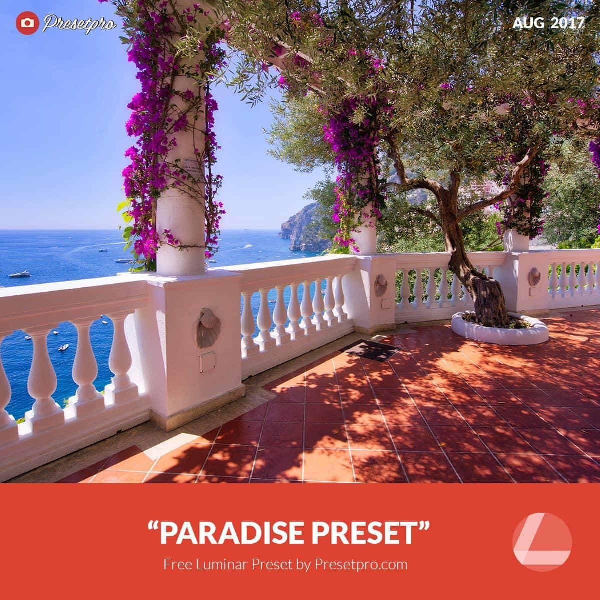 Free-Luminar-Preset-Paradise-Presetpro.com
