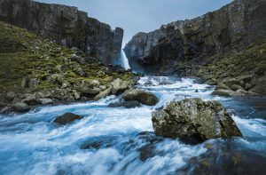 HDR-Photography-Majestic- Waterfall-in-Iceland-Presetpro