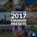 Luminar Presets for Jul Aug Sept 2017 Cover