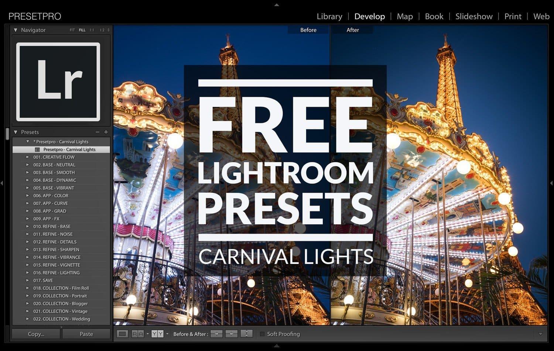Presetpro Free Lightroom Preset Carnival Lights