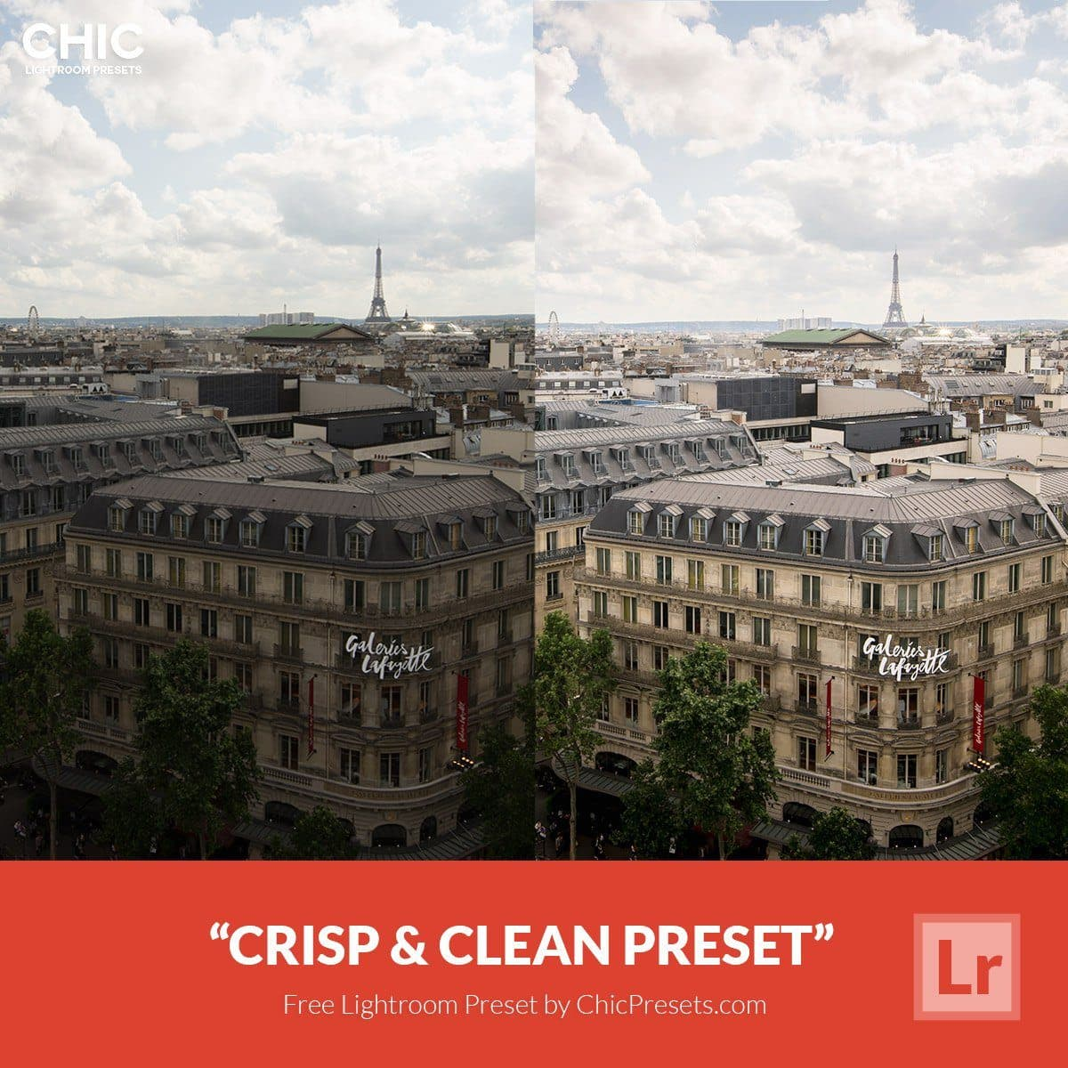 Free-Lightroom-Preset-Crisp-Clean-Chic-Presets