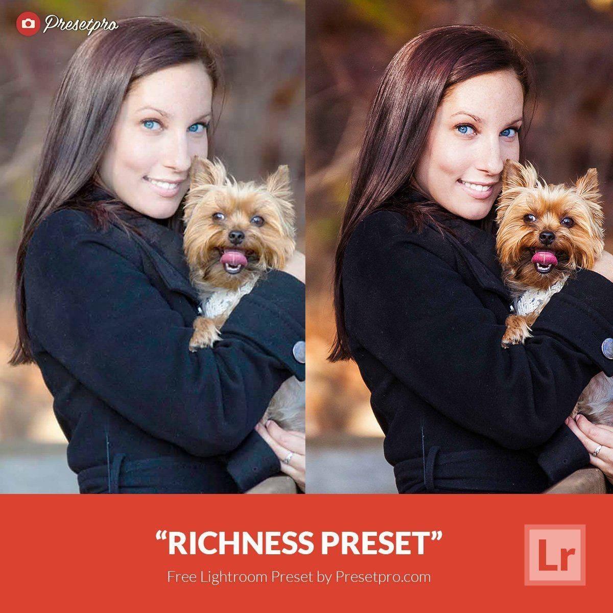 Free lightroom Preset Richness