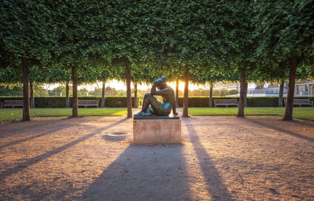 HDR-Photography-Garden-Sunset-in-Paris Presetpro.com