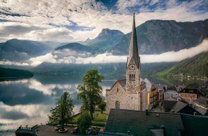 HDR-Photography-Misty Morning in Hallstatt Austria Presetpro