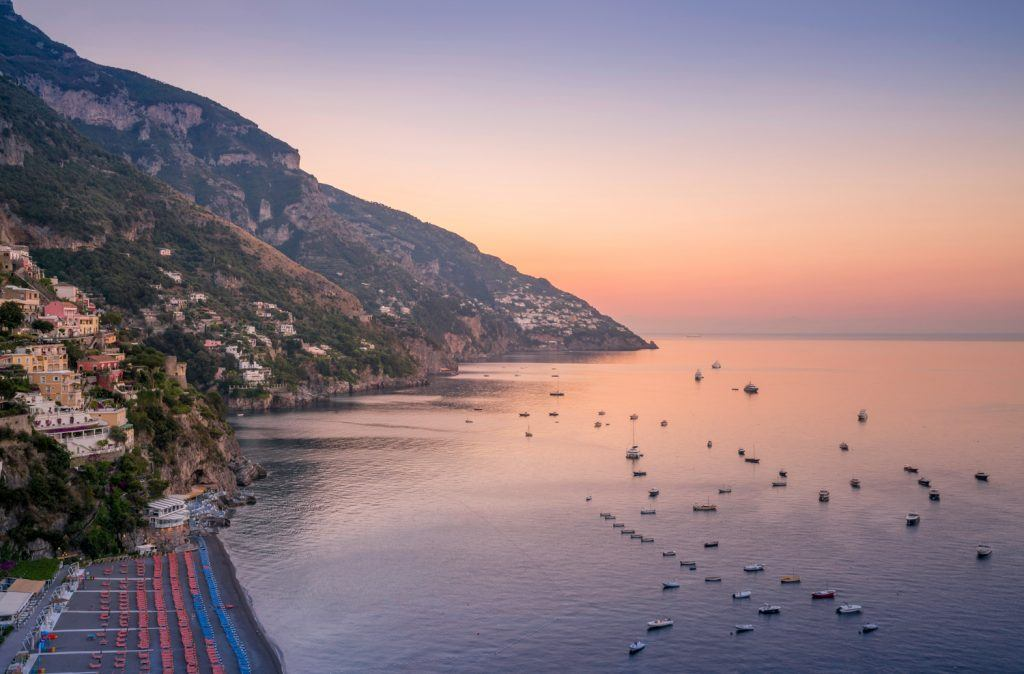 HDR-Photography-Positano-Sunrise Tim Martin