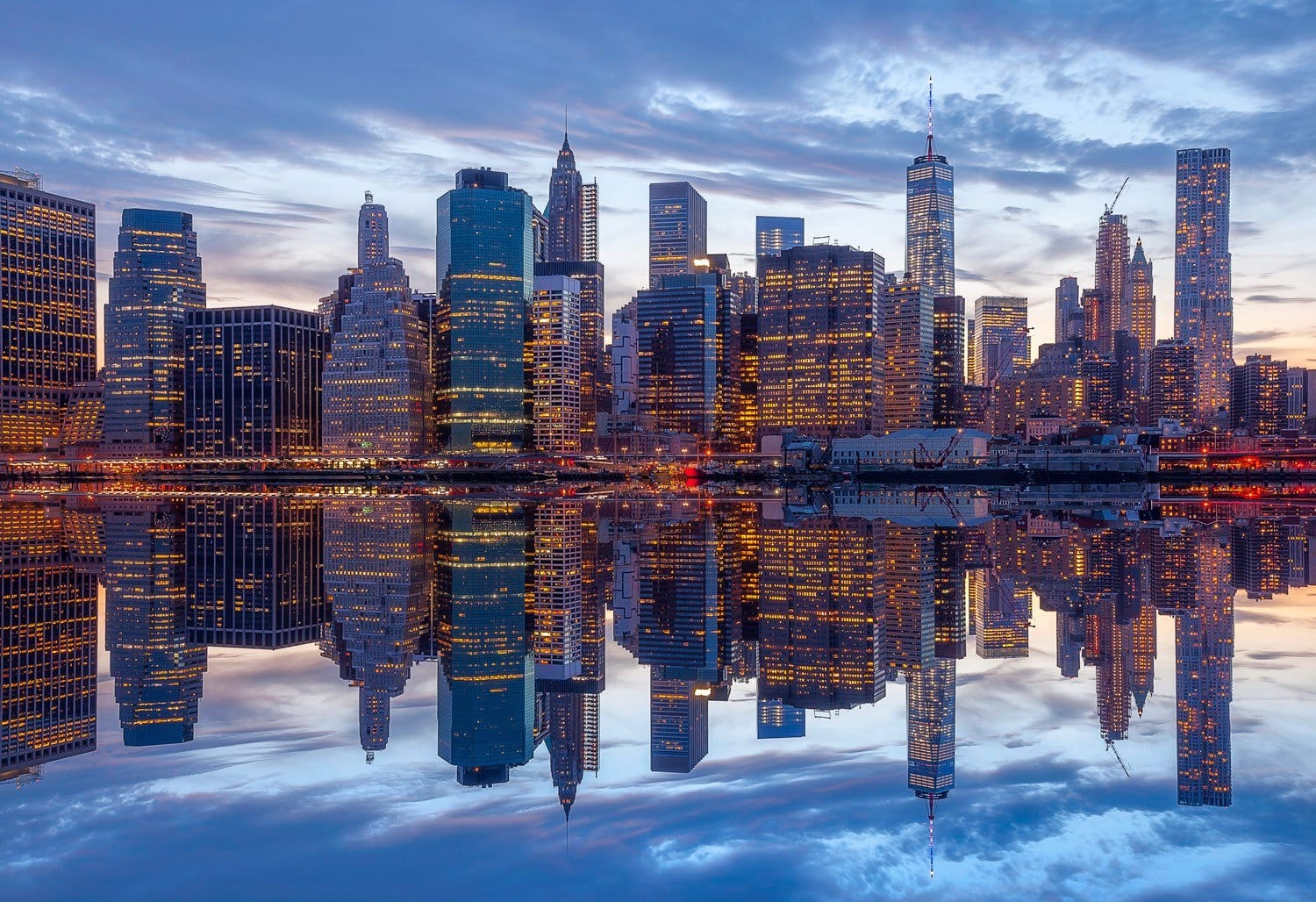HDR Photography Reflections New York City