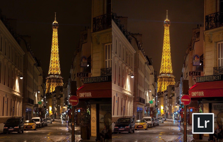 Free Lightroom Preset City Nights